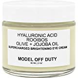 Model off Duty Beauty Supercharged Brightening Eye Cream | Natural & Organic Eye Cream | Hyaluronic Acid, Rooibos…