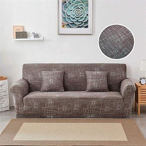 Amazon.com: Funda elástica de sofá para sofá de diferentes ...