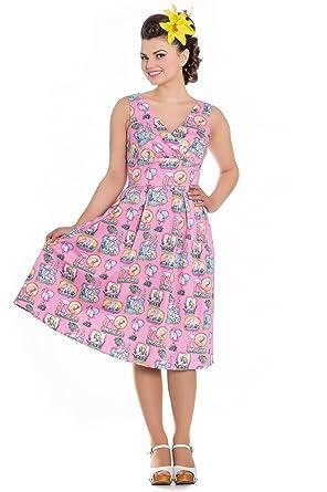 Hell Mädchen Kleider Kleid Rose Rosa Bunny u3lFcTJK1