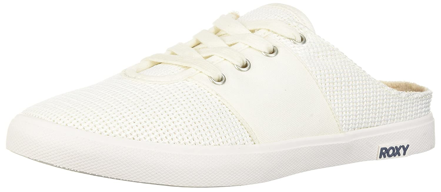 Roxy Women's Chica Slip on Shoe Sneaker B071KCR8QS 7 B(M) US|White