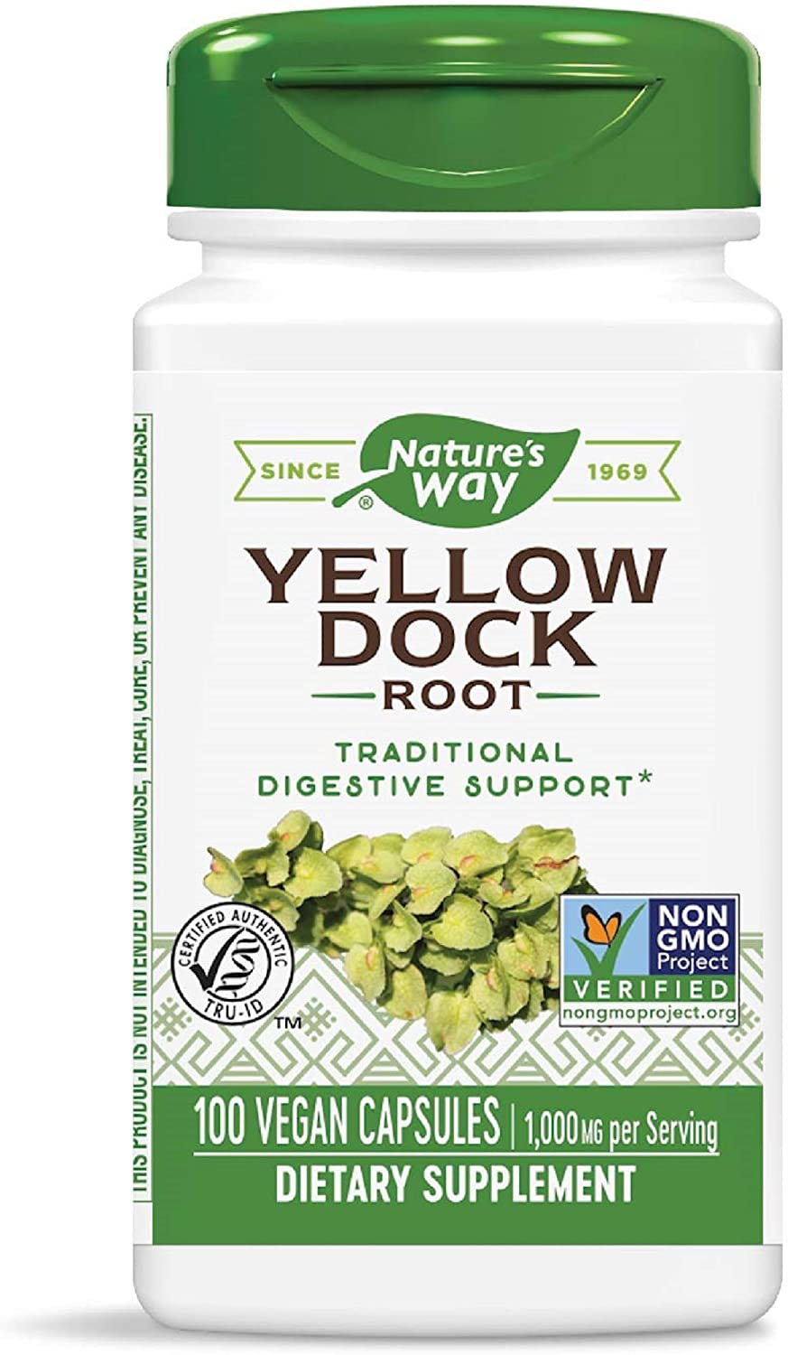 Nature's Way Yellow Dock Root (Packaging May Vary)