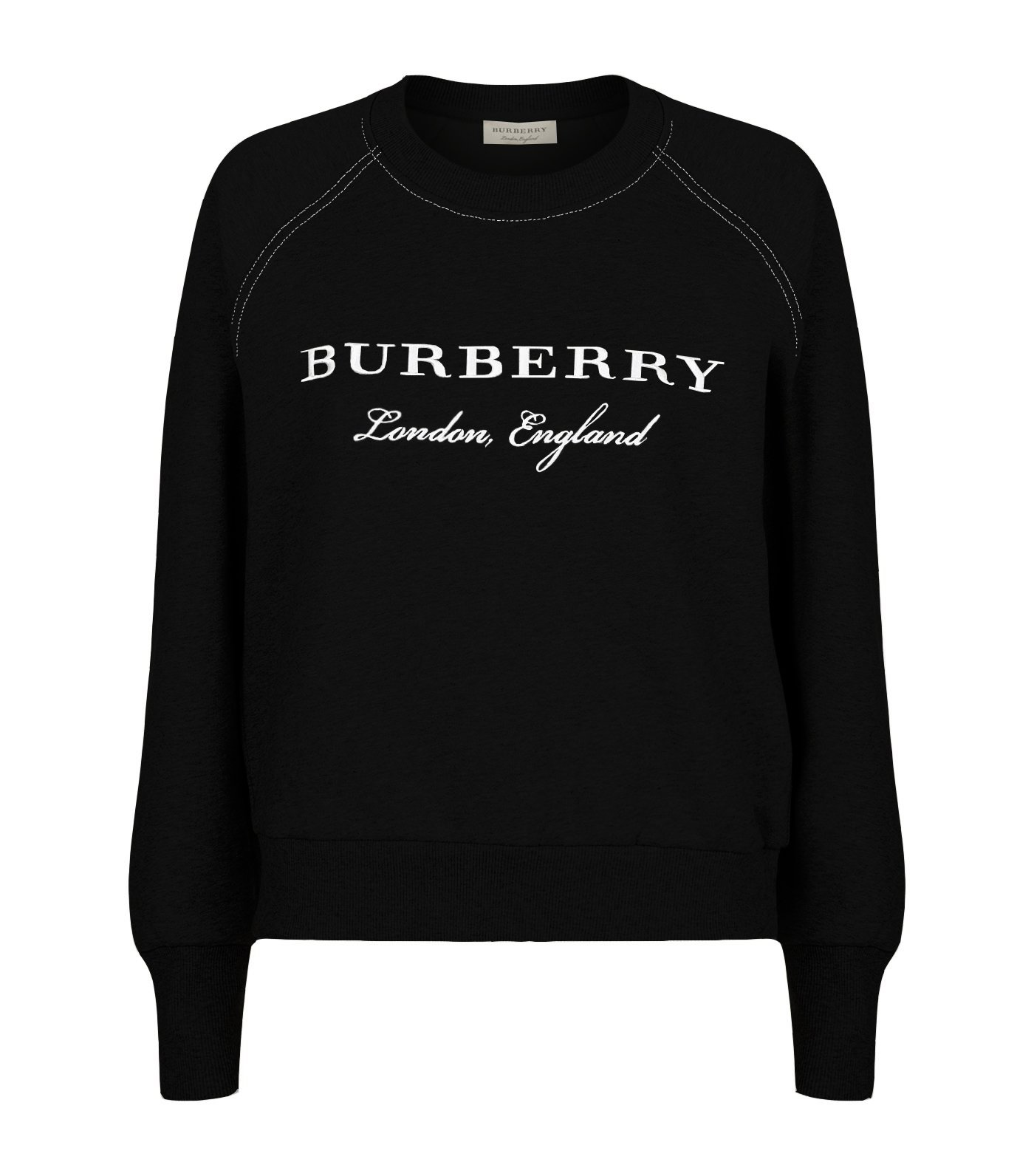 Burberry Women's Black Torto Sweatshirt M