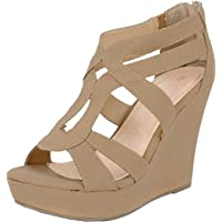 a72c67c2bcafd1 Amazon Best Sellers  Best Women s Platform   Wedge Sandals