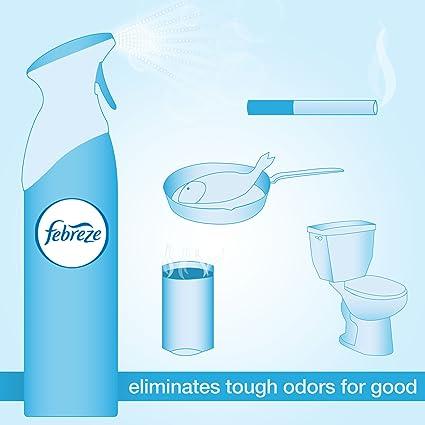 Amazon.com: Febreze Air Freshener, Air Effects Meadows & Rain Air Freshener (9.7 Oz) (Pack of 9): Health & Personal Care