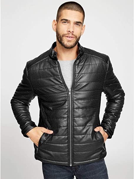 Amazon.com: G by GUESS Samson - Chaqueta acolchada para ...