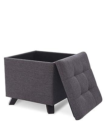 Suhu Pouf Hocker Mit Stauraum Sitzhocker Sofa Couch Puff Hocker