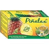 Pinalax Pineapple Tea for Weight Loss and Detox with Artichoke, Green Tea, Yacon and Stevia - 100% Natural (30 Tea Bags