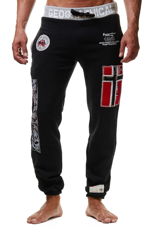 Geographical Norway Myer Pantaloni da jogging da uomo, ideali per il tempo libero