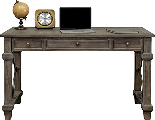Martin Furniture Writing Desk, Weathered Dove