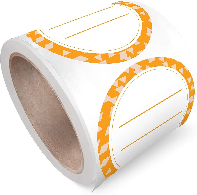 Canning Labels Dissolvable Labels For Mason Jars and More - Orange Peel (2