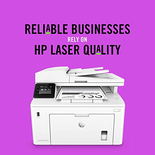 HP LaserJet Pro M227fdw All-in-One Wireless Laser Printer, Works with Alexa G3Q75A . Replaces HP M225dw Laser Printer,White,Large