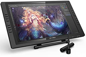 XP-PEN Artist22E Pro Drawing Pen Display Graphic Monitor IPS Monitor 8192 Level Pen Pressure Drawing Pen Tablet Dual Monitor with 16 Express Keys and Adjustable Stand 21.5 Inch