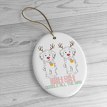 Amazon com: Georgia Barnard Doodle Curls Jingle Bells