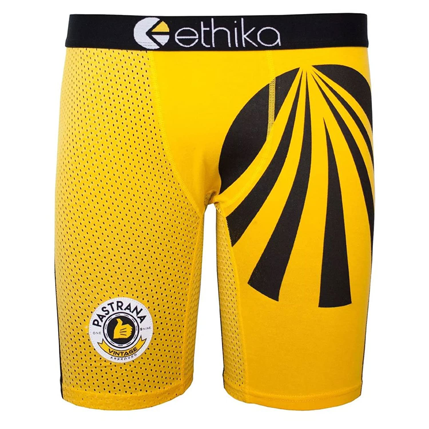 Ethika Men's The Staple Pastrana Vintage Howerton Underwear Yellow
