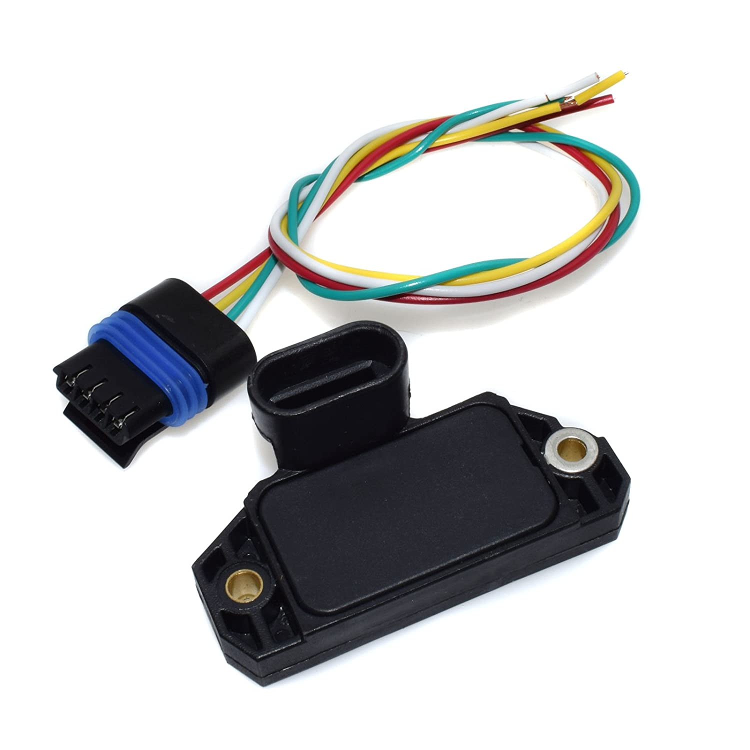 amazon com new ignition control module icm w 4 wires Stepper Motor Wire Harness