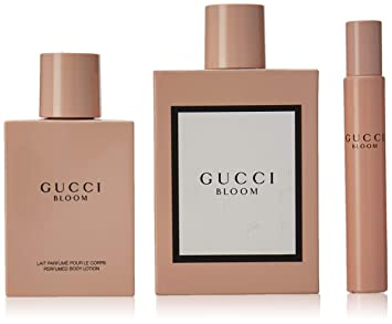 6759074b345 Amazon.com   Gucci 3 Piece Bloom Eau de Parfum Spray Gift Set for Women    Beauty