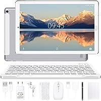 YESTEL Android 10.0 10-inch tablets met 4 GB RAM + 64 GB ROM - WiFi | Bluetooth | GPS, 8000 mAh, met muis | Toetsenbord…
