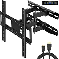 "Lanfiate TV Wall Mount Fit for Most 26""-60"" TVs Dual Articulating Arm Full Motion Tilt Swivel Bracket 14"" Extension Arm…"