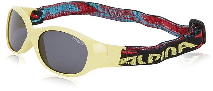 Alpina Kinder Sonnenbrille Line SPORTS FLEXXY, cyan, A8495381