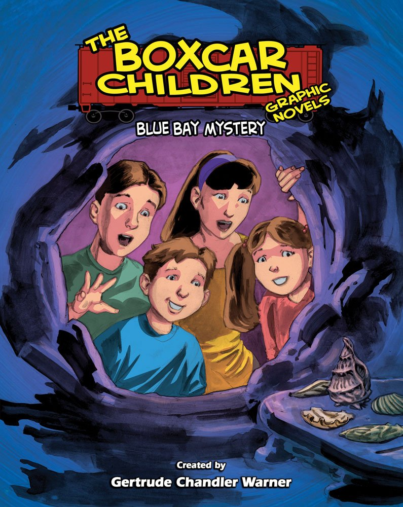 Download The Boxcar Children Graphic Novels 6: Blue Bay Mystery PDF