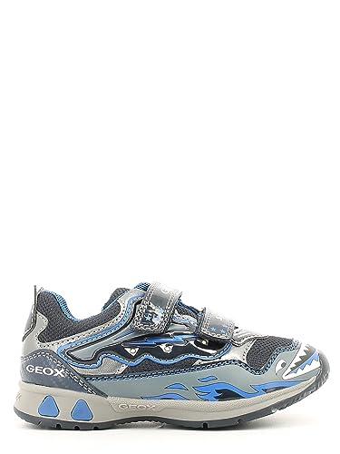 Geox Sneakers Blu | Sneakers Bambino Tessuto | Calzature D
