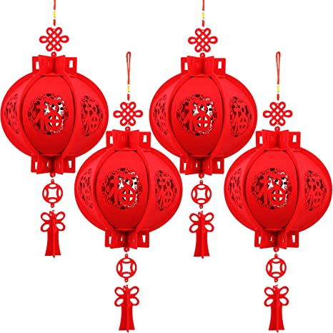 Christmas 2020 Chinese Lanterns Decorations New Year Spring Festival Party Decor