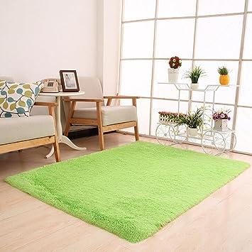 lhwy flauschige teppiche anti rutsch shaggy bereich teppich esszimmer schlafzimmer teppich bodenmatte 50 x - Esszimmer Bereich Teppiche