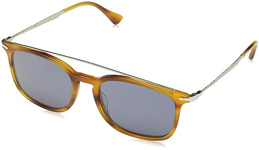 6f2b35f00 Persol Sunglasses For Men, Blue PO3173S 960/5654 54 mm: Amazon.ae