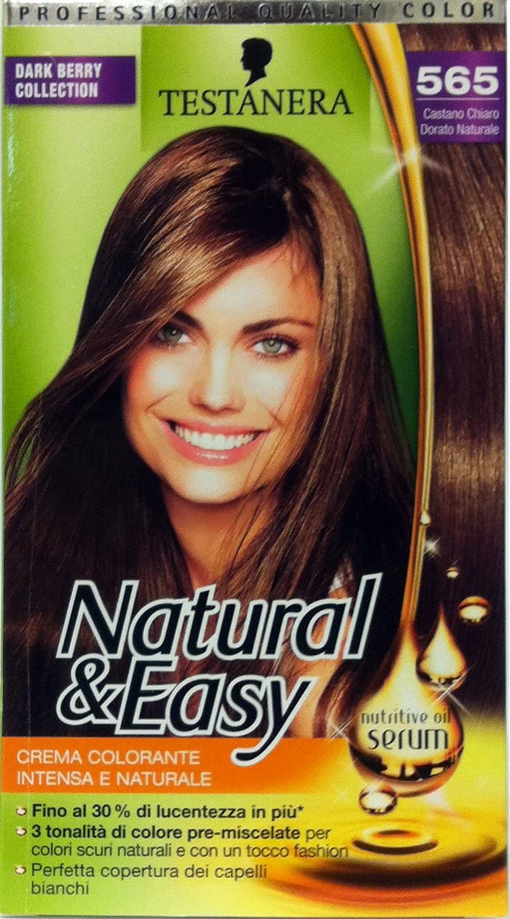 Natural & Easy Shampoo Tinte Castaño Claro Dorado 565: Amazon ...