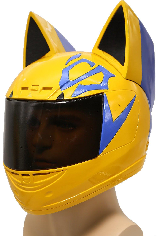 XCOSER Celty Helmet Mask Costume Props Accessories for Halloween Cosplay Resin