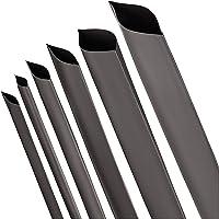 Krimpkousen 2:1 zwart 12 Diameters en 6 Lengtes Heat shrink tubing by ISOLATECH (Diameter Ø 1mm – Lengte: 1m)