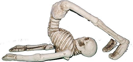 Meditation C Ganz Zen Skeleton Figurines in Various Meditation Poses