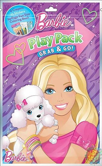 Mini Set Barbie Posh Pets Crayons