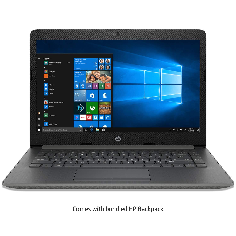 HP Core i3 7th gen 14 inch Thin and Light  4 GB /1TB HDD/Win 10 Home/Smoke Gray/1.59 kg , 14q cs0006TU with Bundled Laptop Bag Laptops