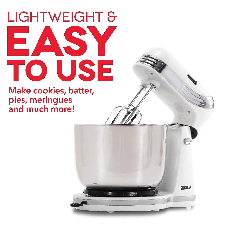 Dash Everyday Stand Mixer White