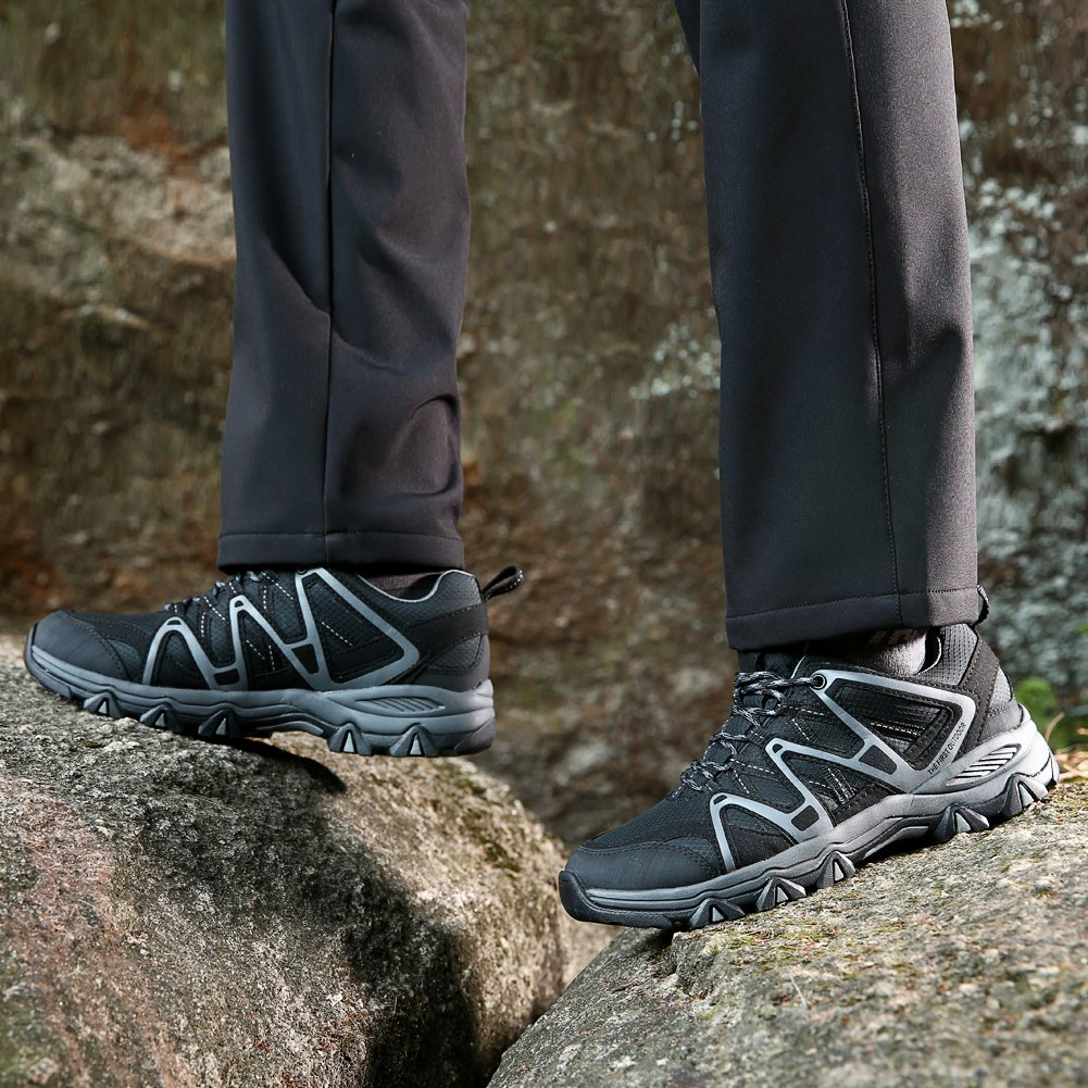 TFO Men Trekking /& Hiking Shoes Water Repellent and Breathable Outdoor Shoes with Non-Slip Sole