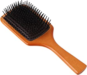 Giveaway: WeCoola Large Natural Wood Paddle Hair Brush + Nylon Pin...