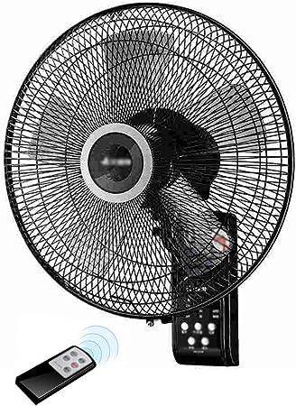 ZZHFS Ventilador Ventilador de Pared - 14 Pulgadas Control Remoto ...