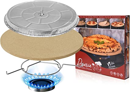 Rosaria® La piedra refractaria para calentar y cocinar pizzas ...