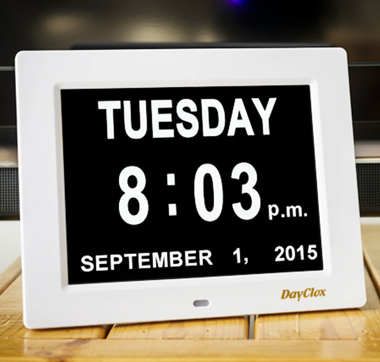 Amazon dayclox the original memory loss digital calendar amazon dayclox the original memory loss digital calendar day clock with extra large non abbreviated day month perfect for seniors home kitchen amipublicfo Images
