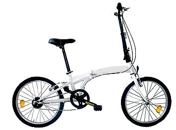 "FREJUS - Bicicleta 20"" Microbike Plegable Blanca"