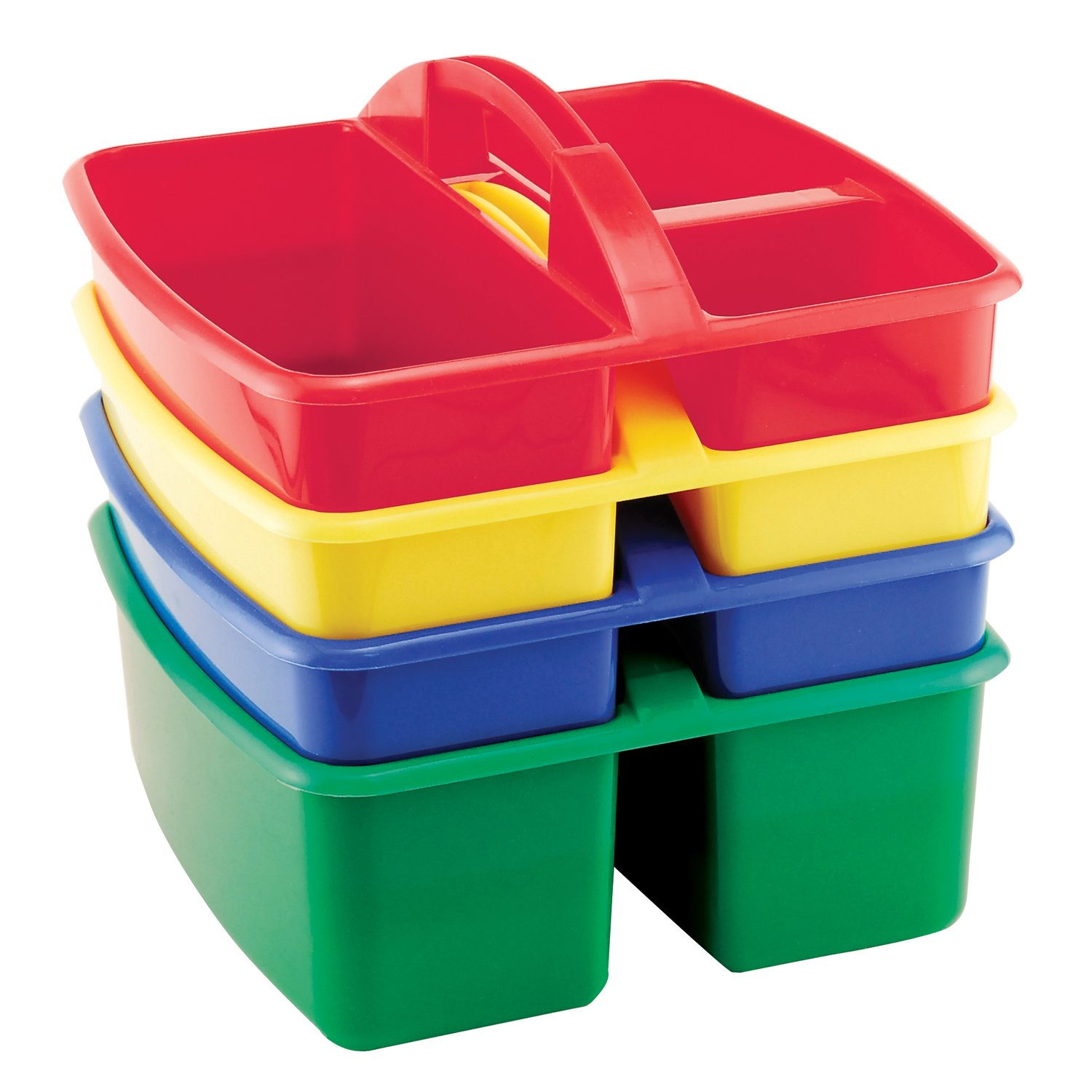 Amazon.com Early Childhood Resources 3 Compartment Small Caddy - Assorted Home u0026 Kitchen  sc 1 st  Amazon.com & Amazon.com: Early Childhood Resources 3 Compartment Small Caddy ...