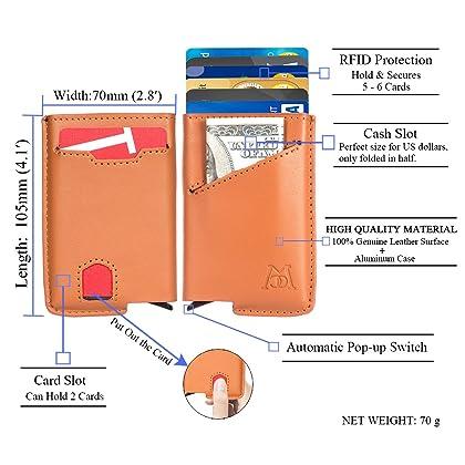 Amazon cambodia shopping on amazon ship to cambodia ship overseas manchda rfid blocking business card holder credit card case leather wallet reheart Choice Image