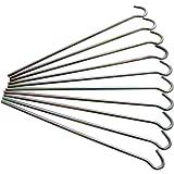 Am-tech Metal Garden Pegs (10-Piece)