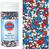 Mystic Sprinkles Mini United Stars Confetti Mix 2.6oz Bottle