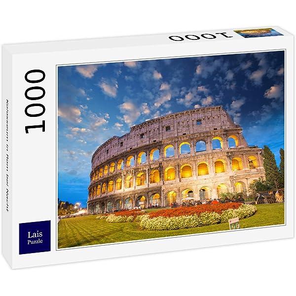 Clementoni - Puzzle de 1000 Piezas,, diseño Roma - El Coliseo ...