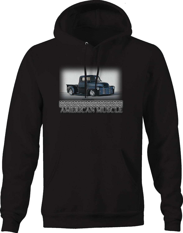 American Muscle Muscle Car Vintage Truck Apache 3100 Garage Hoodie for Men