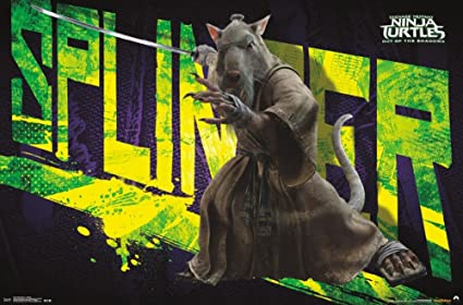 Amazon.com: Teenage Mutant Ninja Turtles 2- Splinter Poster ...