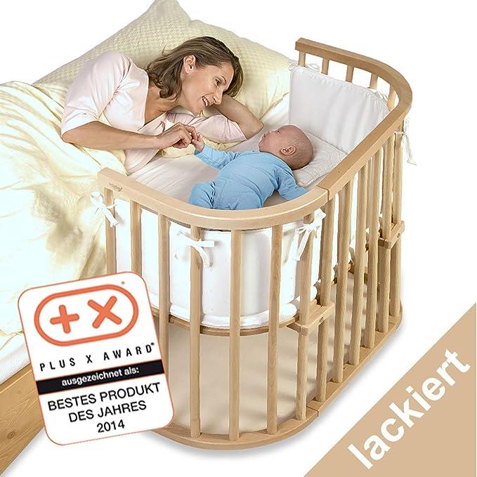 Babybay 100101 - Cuna esquinera multiusos en color natural barnizado [importado de Alemania]: Amazon.es: Bebé