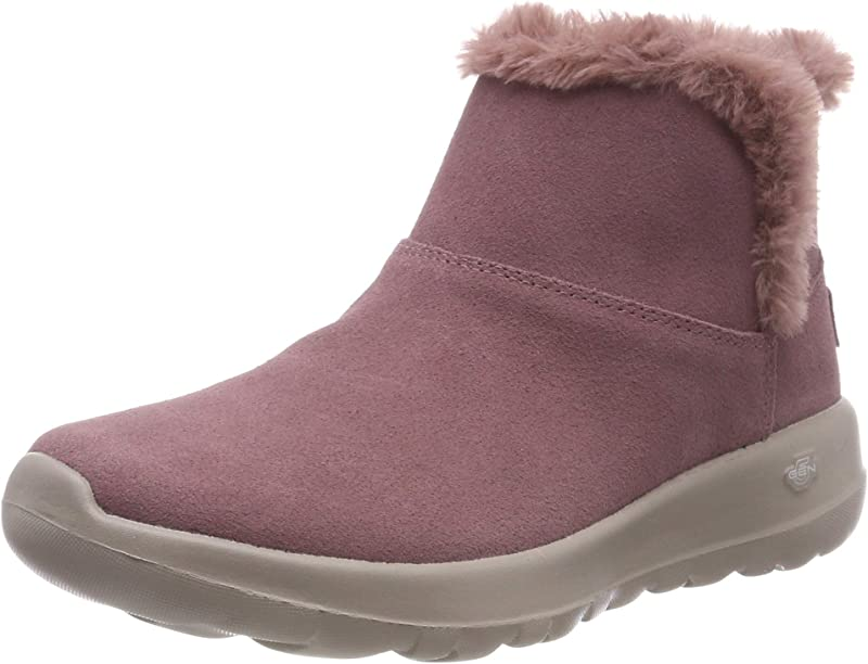 Skechers On The Go Joy Bundle Up Sneakers Stiefel Damen Violett Lila (Mauve)